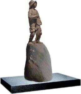 Rybak na kamieniu 2