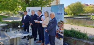 Podpisanie kolejnej umowy o dofinansowanie dla Powiatu Kołobrzeskiego ze środków Programu Operacyjnego Rybactwo i Morze.
