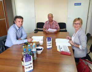 Read more about the article Podpisano  kolejne umowy o dofinansowanie  ze środków Programu Operacyjnego Rybactwo i Morze