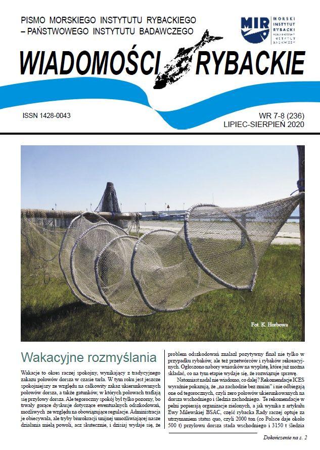 You are currently viewing Zachęcamy do lektury najnowszego wydania Wiadomości Rybackich (lipiec-sierpień 2020 )