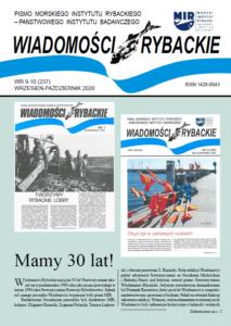 30-lecie Wiadomości Rybackich – nr 9-10 (237) – wrzesień-październik 2020