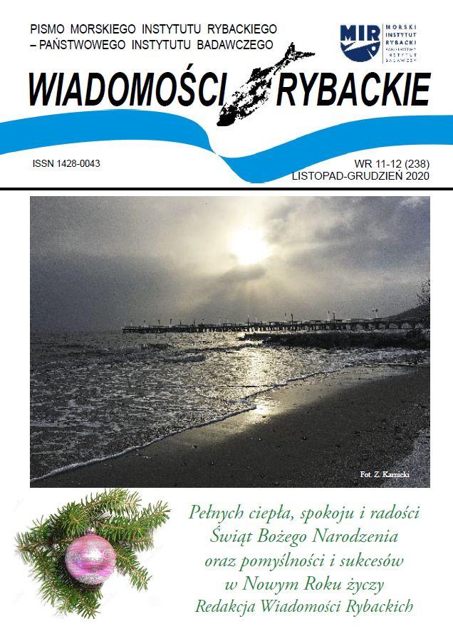 Świąteczne wydanie Wiadomości Rybackich NR 11-12 (238)  LISTOPAD-GRUDZIEŃ 2020