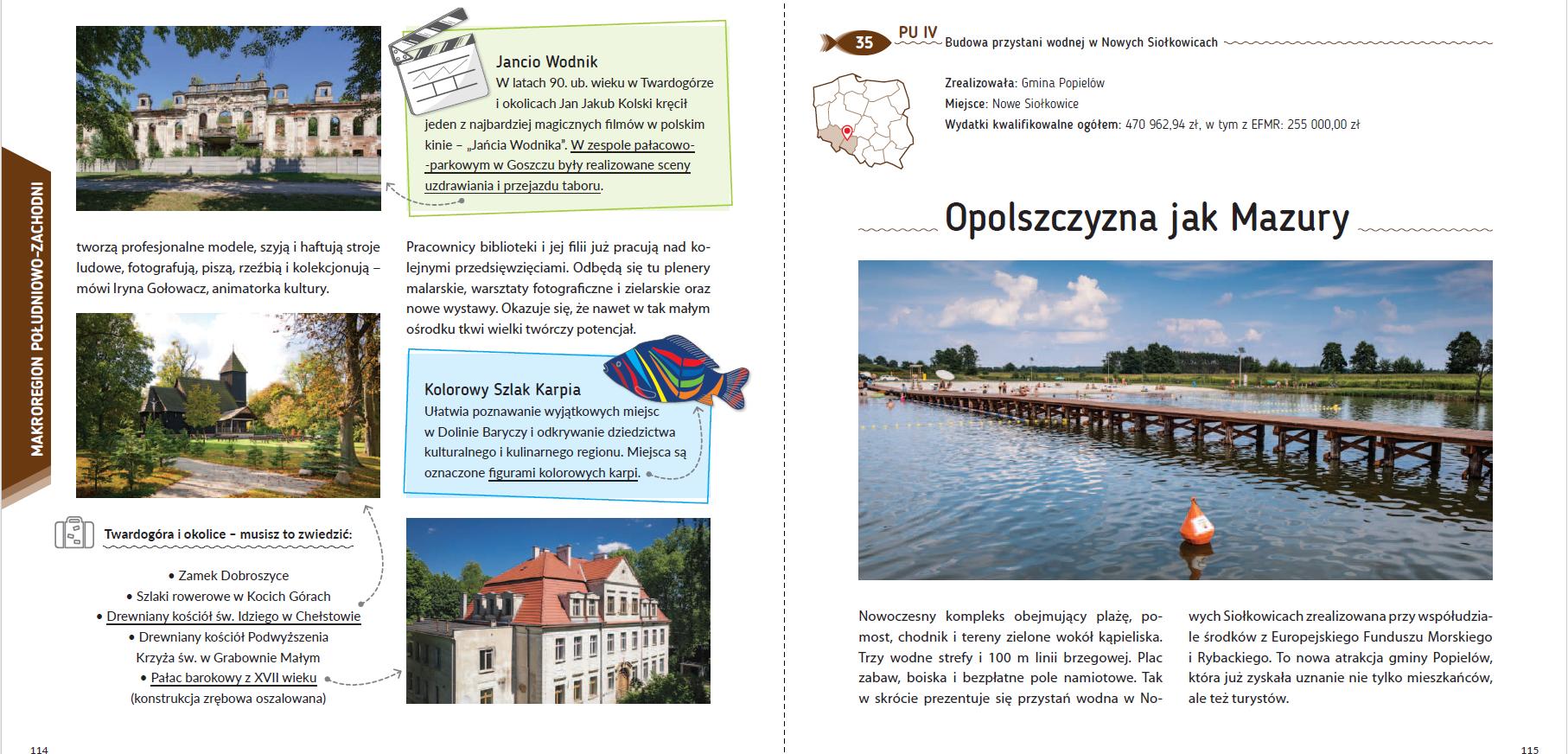 Przewodnik – przykłady operacji w ramach PO RYBY 2014-2020