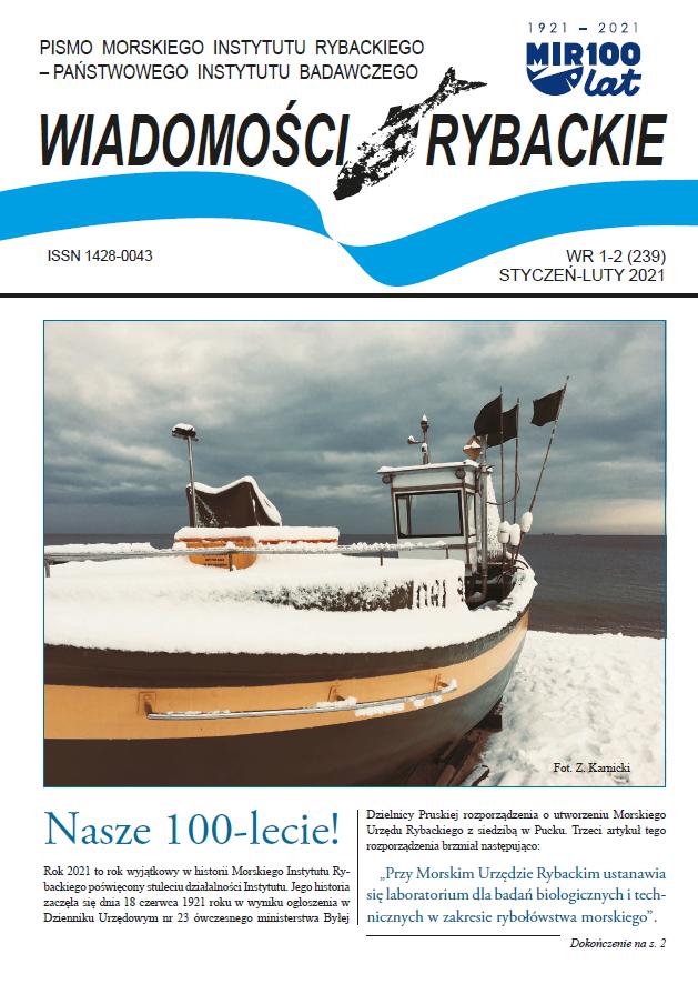 Najnowsze wydanie Wiadomości Rybackich NR 1-2 (239) • STYCZEŃ-LUTY 2021