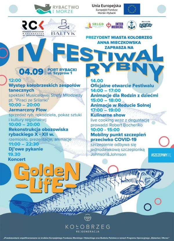 You are currently viewing IV Festiwal Rybny -Port Rybacki -4 września 2021